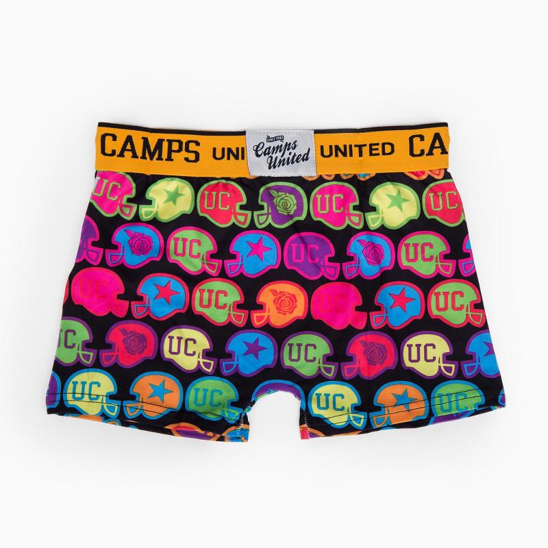 Boxer multicolore garçon CAMPS UNITED marque pas cher prix dégriffés destockage