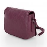 Petit sac simili cuir violet motifs baroque femme CHRISTIAN LACROIX marque pas cher prix dégriffés destockage