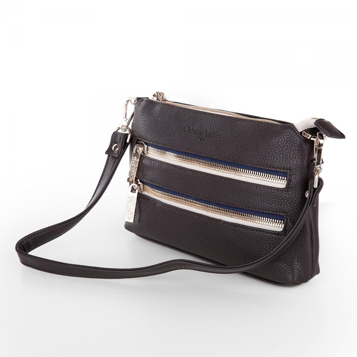 Sac à Bandoulière Femme Gris : D?stockage sac bandouliere bandido gris petit modele