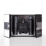 Coffret parfum eau de parfum 100 ml + Déodorant 150 ml + Mousse à raser 150 ml Pour lui In black homme MAUBOUSSIN marque pas ...