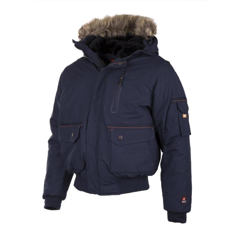 Blouson de ski à capuche homme NORTH VALLEY marque pas cher prix dégriffés  destockage de9035f0c38