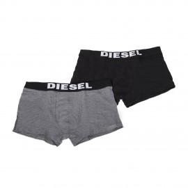 Lot de 2 boxers gris/noir homme DIESEL