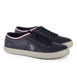 Tennis simili cuir homme US POLO