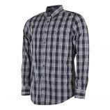Chemise à carreaux noire et blanche homme GANT marque pas cher prix dégriffés destockage