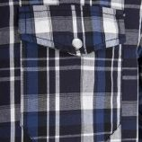 Chemise à carreaux bleue homme BEST MOUNTAIN marque pas cher prix dégriffés destockage