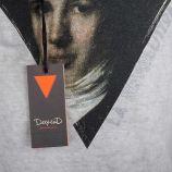 Tee-shirt gris clair imprimé homme DEEPEND marque pas cher prix dégriffés destockage
