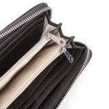 Porte-monnaie simili cuir noir femme US POLO marque pas cher prix dégriffés destockage