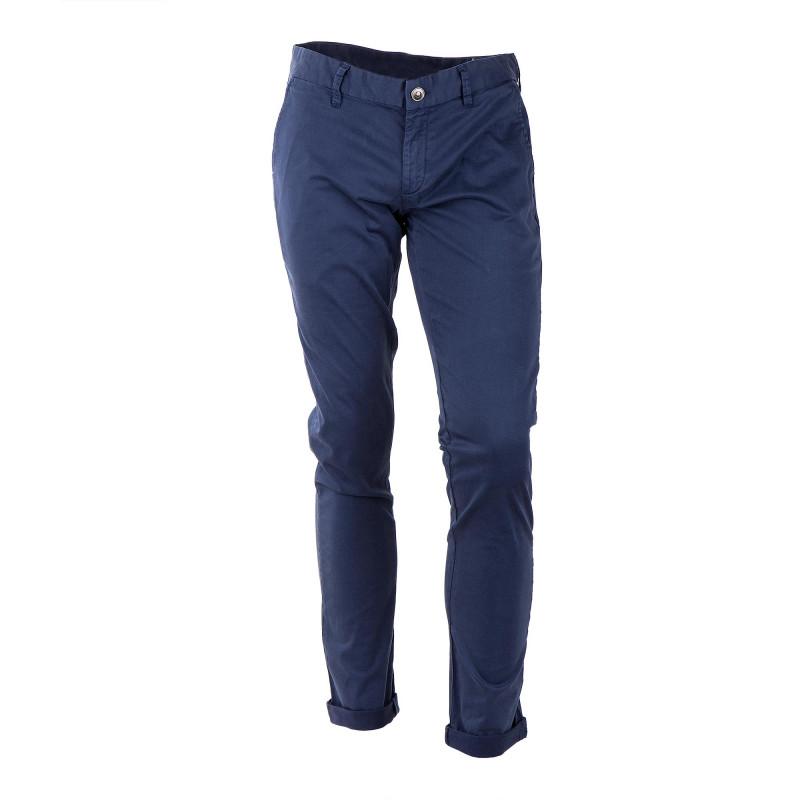 Pantalon chino bleu nuit homme DEEPEND marque pas cher prix dégriffés destockage