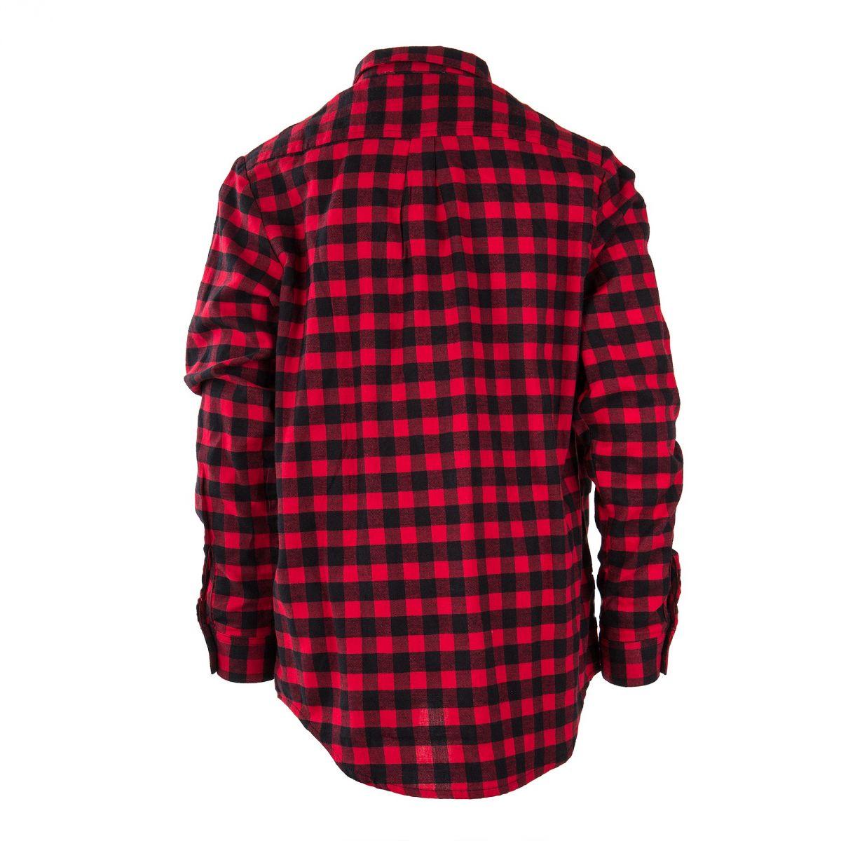 Chemise carreaux rouge et noire gar on best mountain prix for Veste a carreaux rouge et noir
