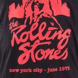 T-shirt manches courtes noir The Rolling Stones homme ARTISTS marque pas cher prix dégriffés destockage