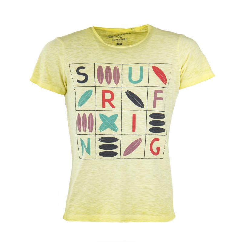 T-shirt manches courtes coloré homme BEST MOUNTAIN marque pas cher prix dégriffés destockage