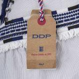 Gilet sans manches brodé coton femme DDP marque pas cher prix dégriffés destockage
