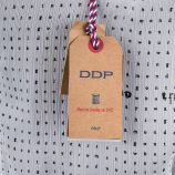 Robe blanche imprimé alphabet femme DDP marque pas cher prix dégriffés destockage