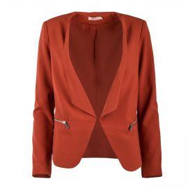 Veste Blazer basique zips femme DDP marque pas cher prix dégriffés destockage