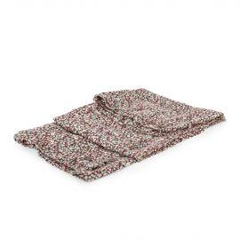 Foulard à fleurs femme DDP marque pas cher prix dégriffés destockage