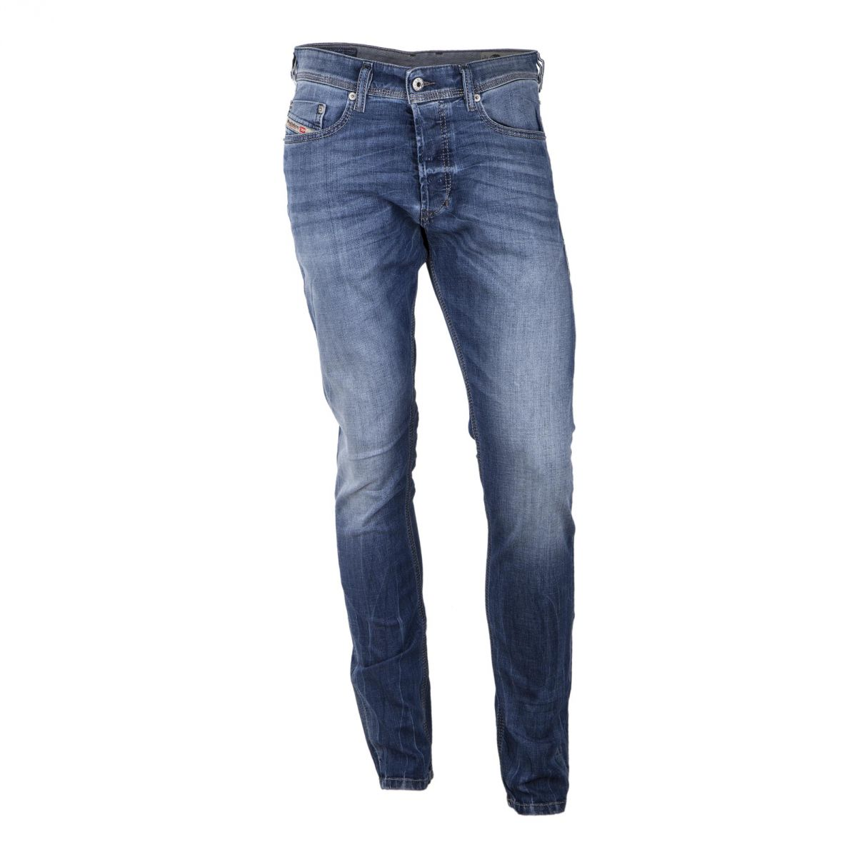 jean bleu d lav slim carrot tepphar 0859 stretch homme. Black Bedroom Furniture Sets. Home Design Ideas