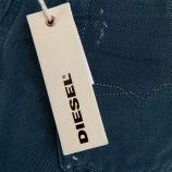 Jean bleu regular slim-tapered BELTHER WASH 0818V homme DIESEL marque pas cher prix dégriffés destockage