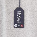 Tee shirt gris chiné floqué homme LITTLE MARCEL marque pas cher prix dégriffés destockage