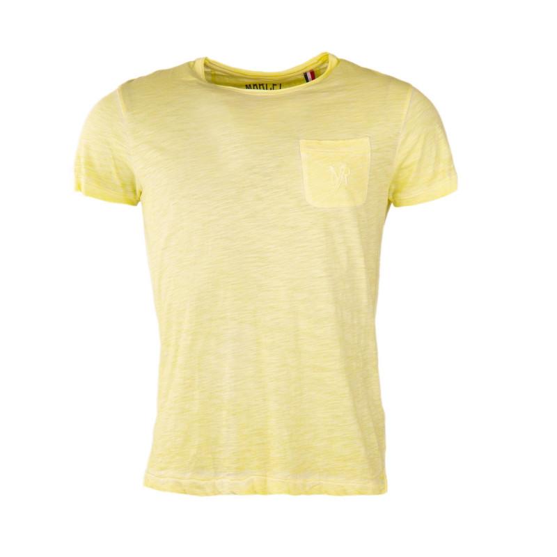 Tee shirt délavé homme LITTLE MARCEL marque pas cher prix dégriffés destockage