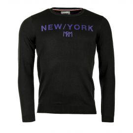 Pull vert NEW YORK homme LITTLE MARCEL
