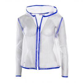 Veste en voile liseret couleur vernis femme COURREGES marque pas cher prix dégriffés destockage