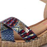 Sandales compensées GULLY femme LES TROPEZIENNES marque pas cher prix dégriffés destockage