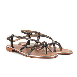 Sandale plates entre doigt MONACO Femme LES TROPEZIENNES PAR M.BELARBI marque pas cher prix dégriffés destockage