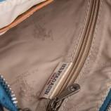 Pochette rayée simili cuir femme US POLO marque pas cher prix dégriffés destockage