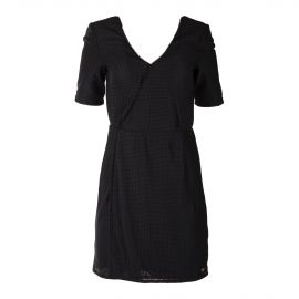 Robe noire portefeuille femme ON YOU