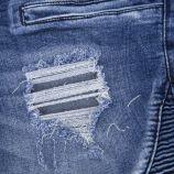 Bermuda en jean destroy homme BLUES SPENCER'S marque pas cher prix dégriffés destockage