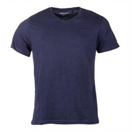Tee-shirt col V boutons DONNAY marque pas cher prix dégriffés destockage