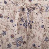 Pantalon fluide beige à motifs fleuris femme BEST MOUNTAIN marque pas cher prix dégriffés destockage