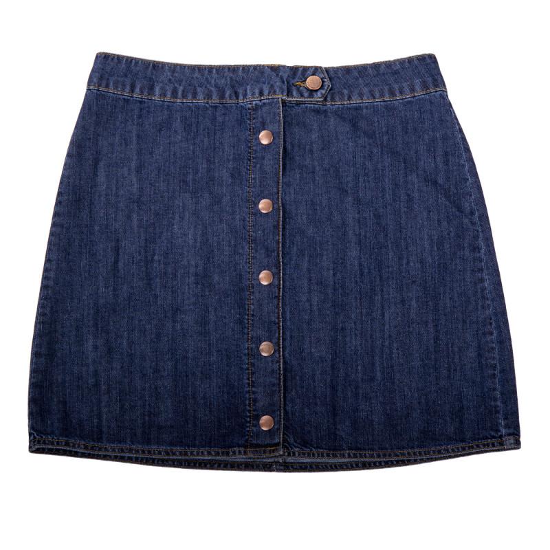 Jupe en jean boutonnée femme BEST MOUNTAIN marque pas cher prix dégriffés destockage