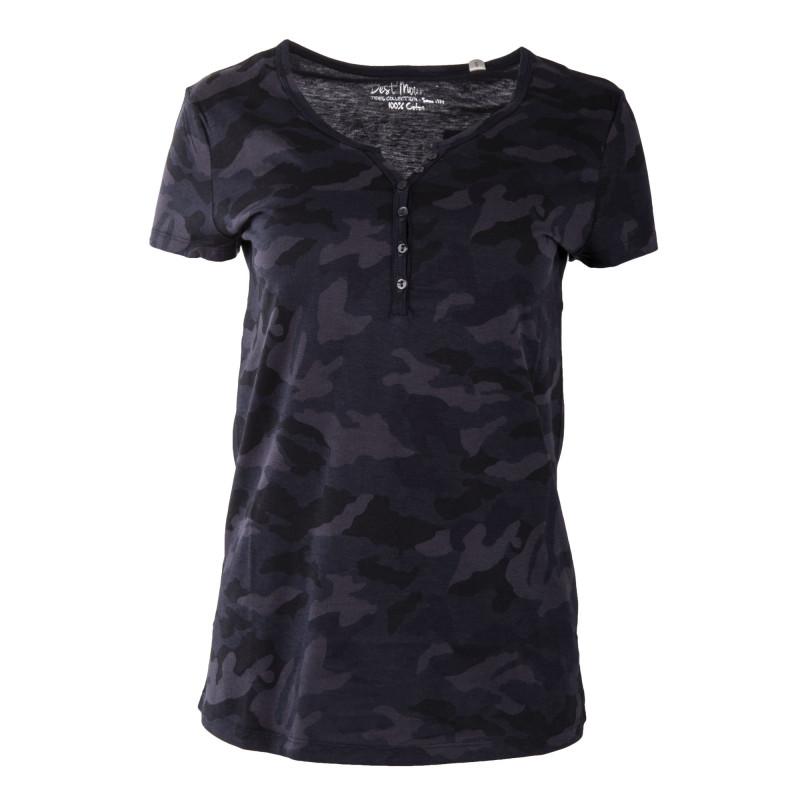 Tee shirt camouflage femme BEST MOUNTAIN marque pas cher prix dégriffés destockage