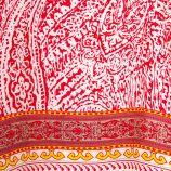 Haut imprimé rouge style poncho femme BEST MONTAIN marque pas cher prix dégriffés destockage