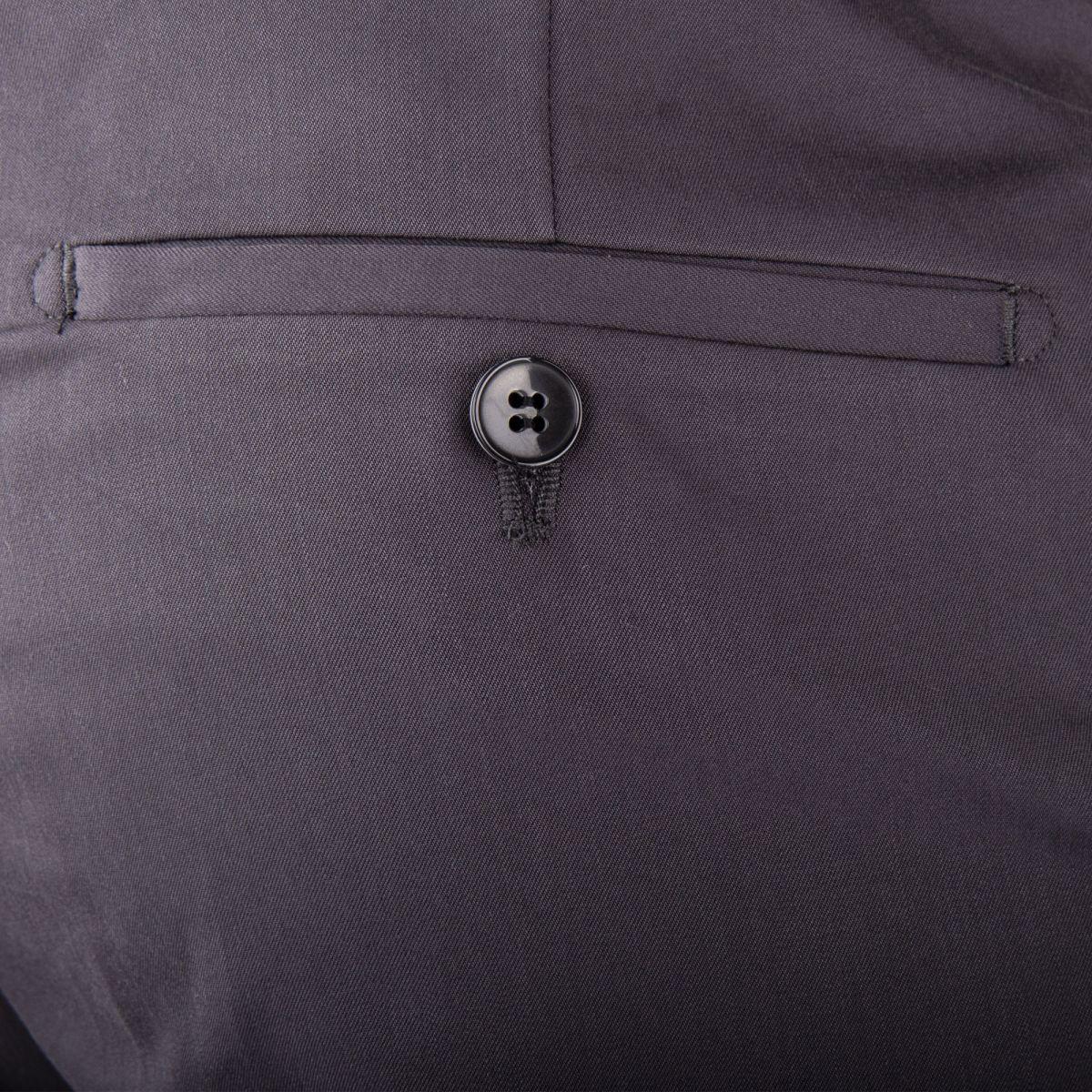 ... Pantalon de costume gris anthracite homme MARION ROTH marque pas cher  prix dégriffés destockage ... 853416046d0