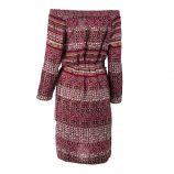 Robe à motifs fleuris rouge femme BEST MOUNTAIN marque pas cher prix dégriffés destockage