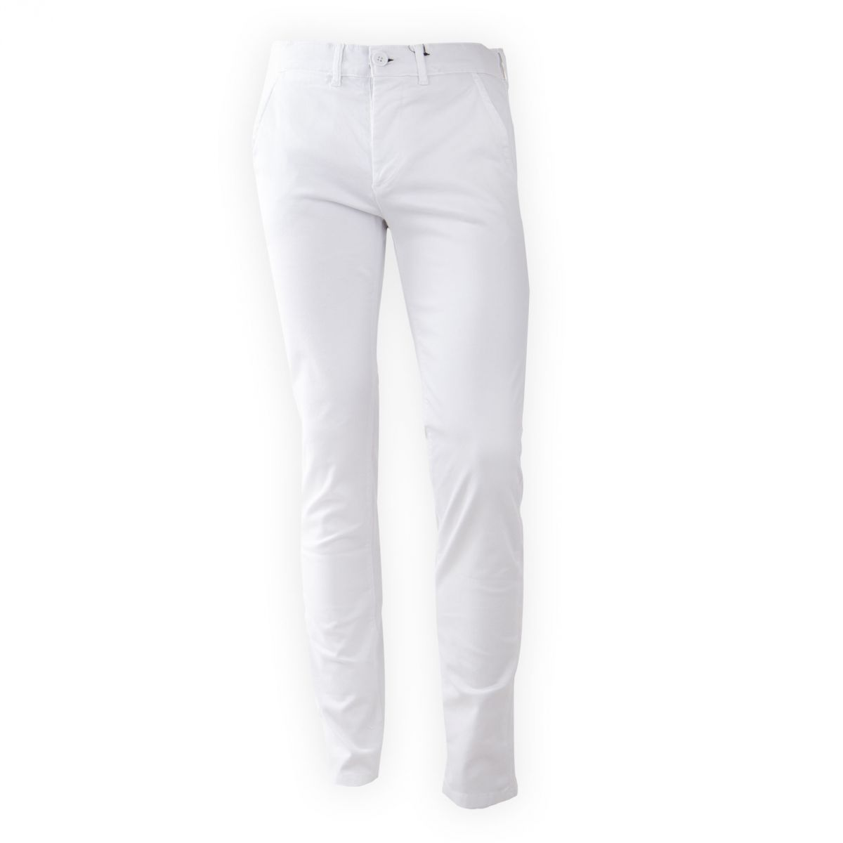 pantalon en toile blanc coupe slim homme best mountain prix. Black Bedroom Furniture Sets. Home Design Ideas