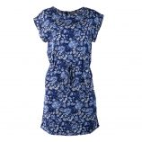 Robe bleue à fleurs femme BEST MOUNTAIN marque pas cher prix dégriffés destockage