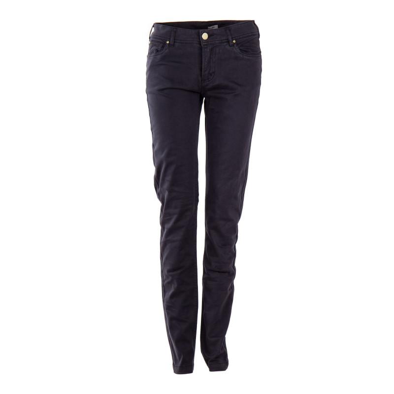 Pantalon en toile bleu marine femme BEST MOUNTAIN marque pas cher prix dégriffés destockage