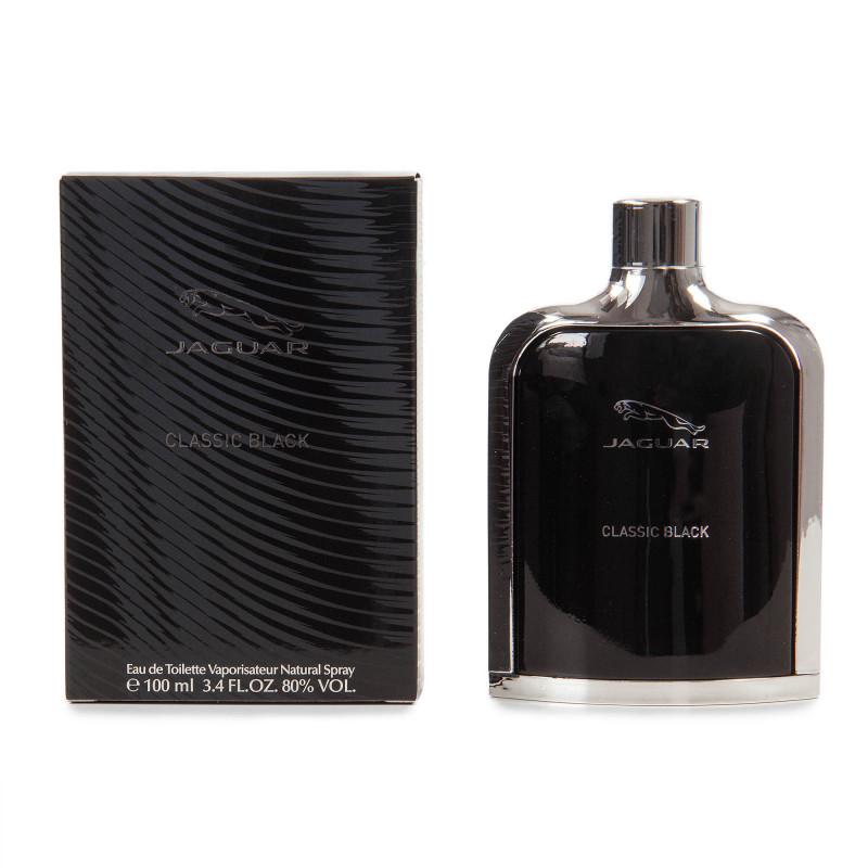 Homme Eau Toilette Jaguar Black 100ml Parfum De Classic clFJK1