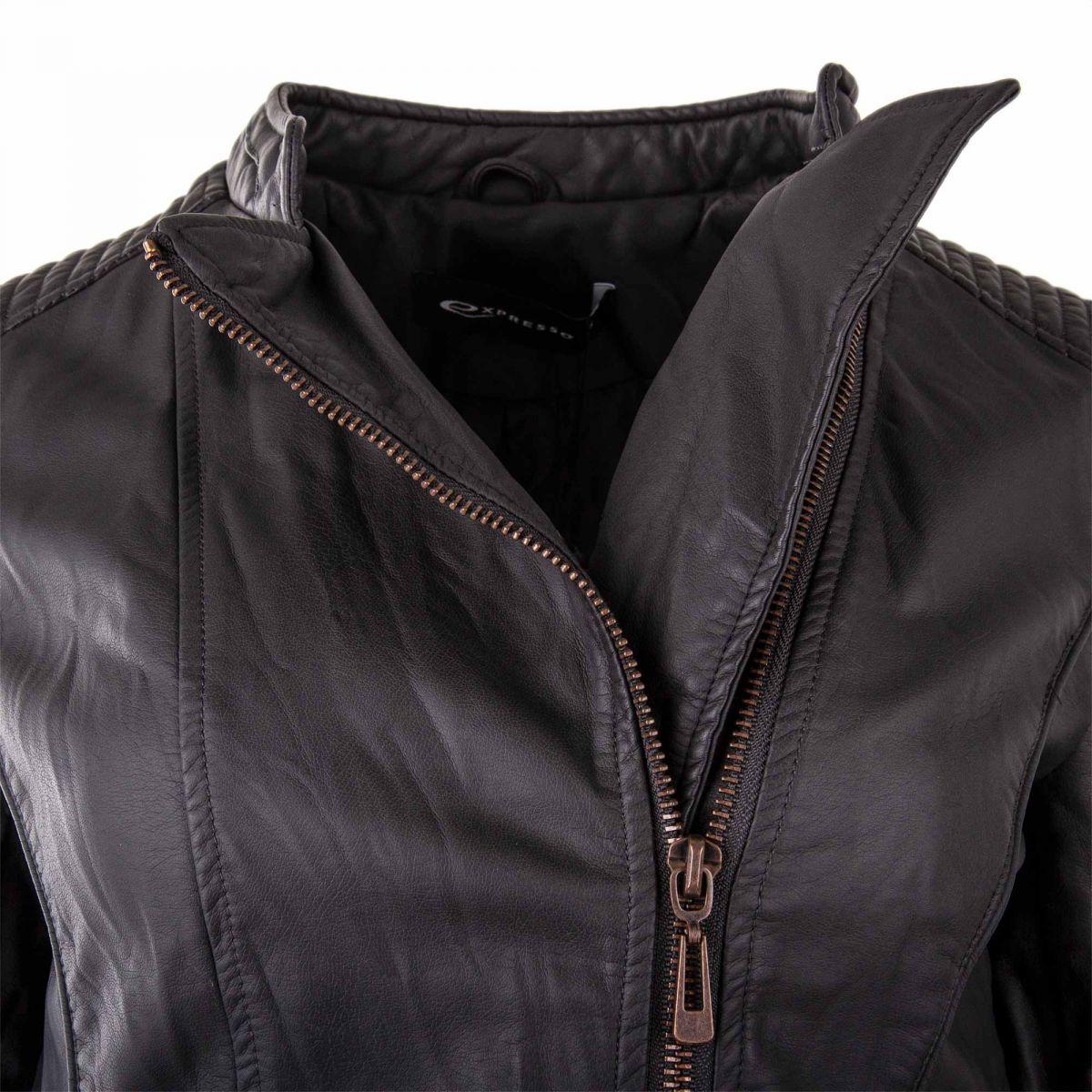 perfecto simili cuir femme expresso prix d griff. Black Bedroom Furniture Sets. Home Design Ideas