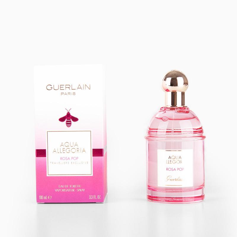 Parfum Eau de toilette Aqua Allegoria Rosa Pop Femme 100ml GUERLAIN marque pas cher prix dégriffés destockage