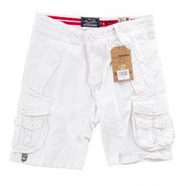 Bermuda blanc en coton enfant BEST MOUNTAIN marque pas cher prix dégriffés destockage