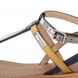 Sandales détail coloré BAILY femme LES TROPEZIENNES marque pas cher prix dégriffés destockage