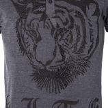 Polo motif tigre strass homme HITE marque pas cher prix dégriffés destockage