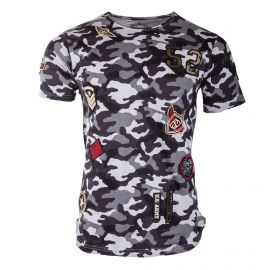 Tee-shirt manches courtes camouflage homme BIAGGIO