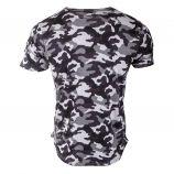 Tee-shirt manches courtes camouflage homme BIAGGIO marque pas cher prix dégriffés destockage