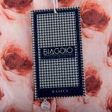 Chemise fleurie manches longues homme BIAGGIO marque pas cher prix dégriffés destockage