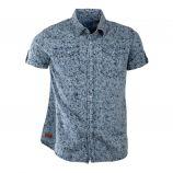 Chemise motif floral manches courtes homme BIAGGIO marque pas cher prix dégriffés destockage